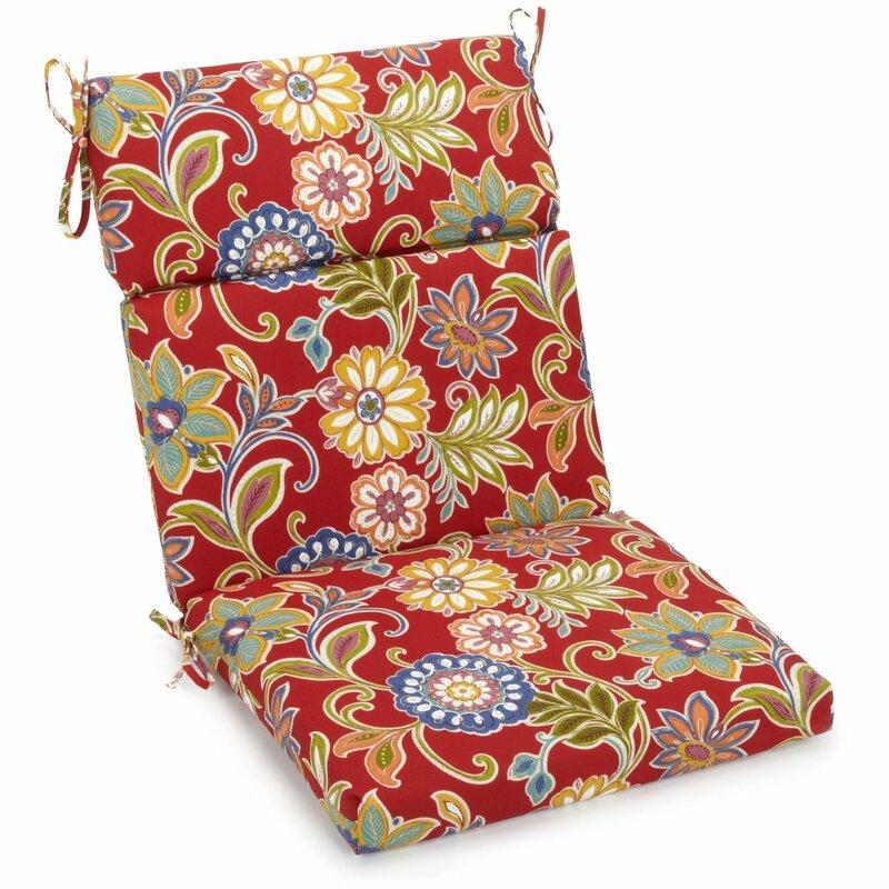 freeport park outdoor high back adirondack chair cushion. Black Bedroom Furniture Sets. Home Design Ideas