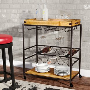 Kahnah Bar Cart by Trent Austin Design