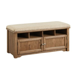 Shept Mallet Wood Storage Bench