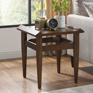 Compare prices Caceres End Table by George Oliver