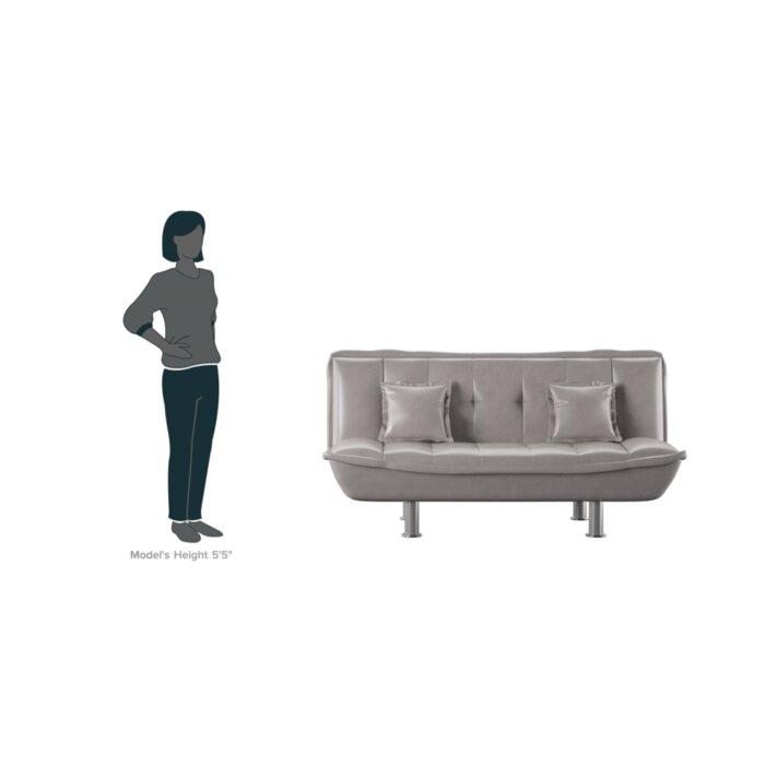 Garvey Modern Convertible Sofa