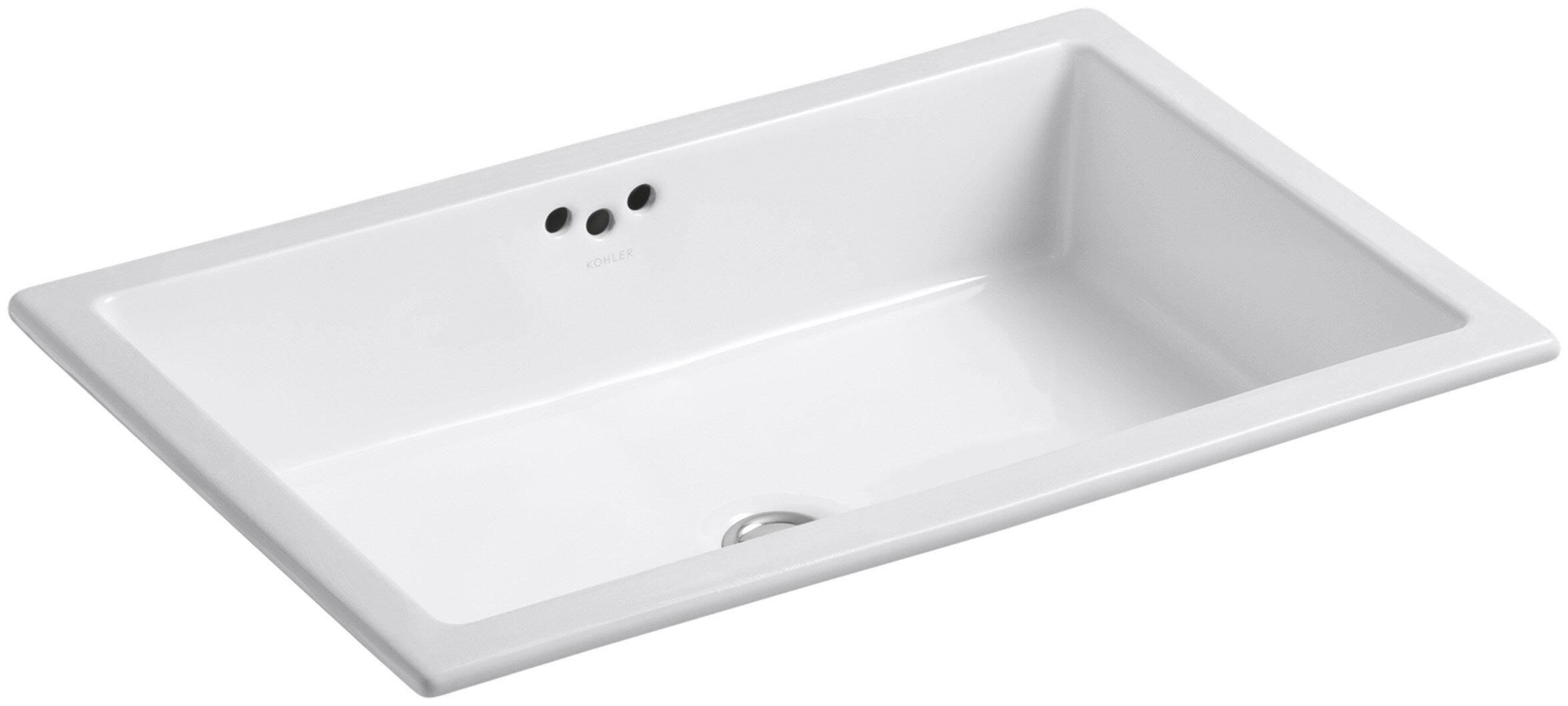 kraus sink undermount overflow elavo large ceramic w bathroom rectangular white kcu small