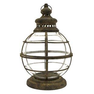 Metal Lantern by Breakwater Bay