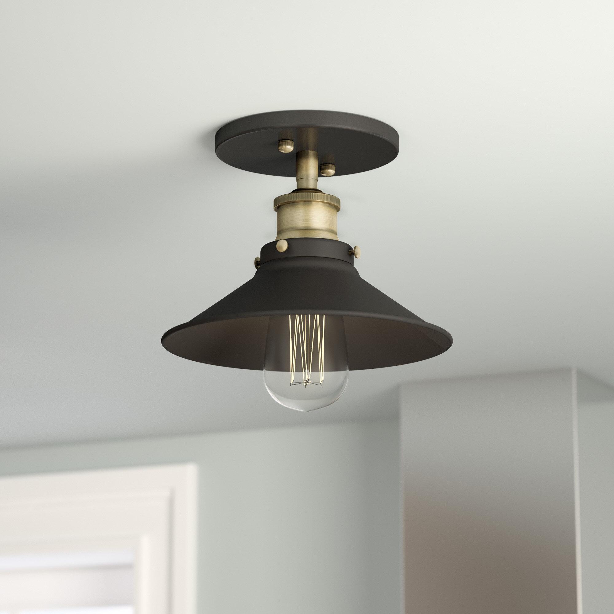 Trent austin design montreal 1 light semi flush mount reviews wayfair