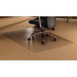Chair Mats For Carpets floortex cleartex high pile carpet straight chair mat & reviews