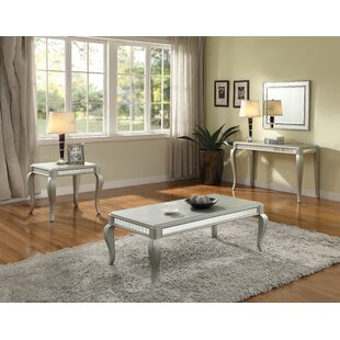 Cranleigh 3 Piece Coffee Table Set