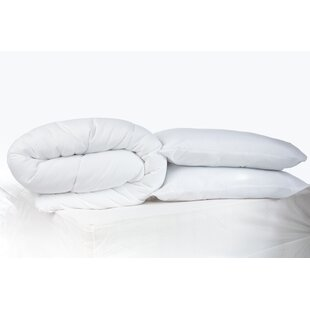 4.5 Tog Duvet With Pillows By Symple Stuff