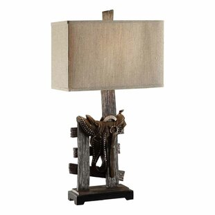 Saddle 31.5 Table Lamp