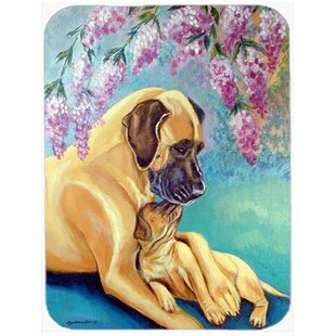 Great Dane Glass Cutting Board By Caroline's Treasures