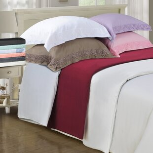 Smith Reversible Egyptian-Quality Cotton Duvet Cover Set