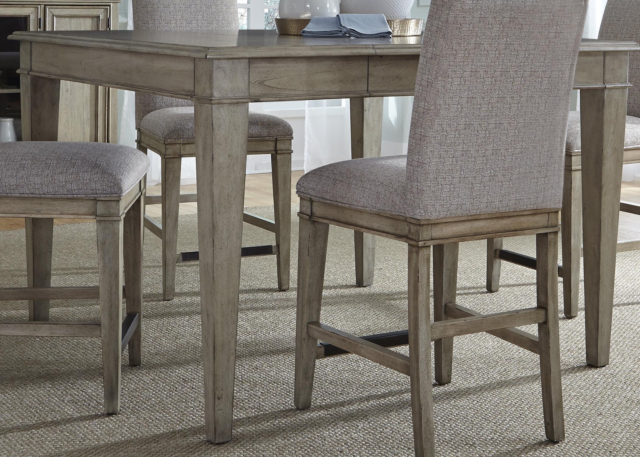 Lark Manor Maelys Counter Height Extendable Dining Table | Wayfair