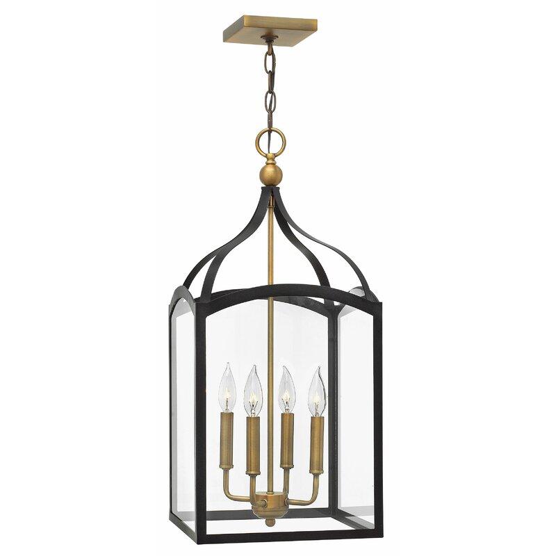 Hinkley Lighting Clarendon 4 Light Lantern Rectangle Pendant Square Pendant Perigold