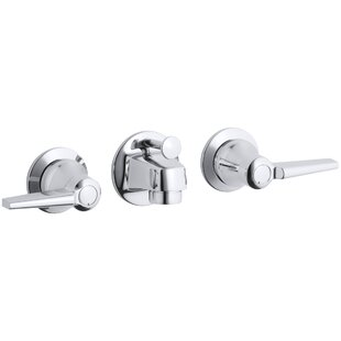 Kohler Triton Wall mounted Bathroom Faucet with Drain Assembly
