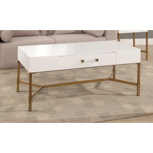 Camilla Coffee Table with Tray Top