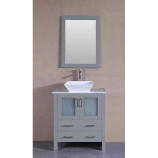 Review 29.6 Single Vanity Set with Mirror by Bosconi