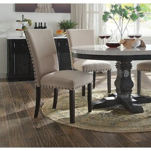 Tyrion Upholstered Dining Chair (Set of 2) Rosdorf Park
