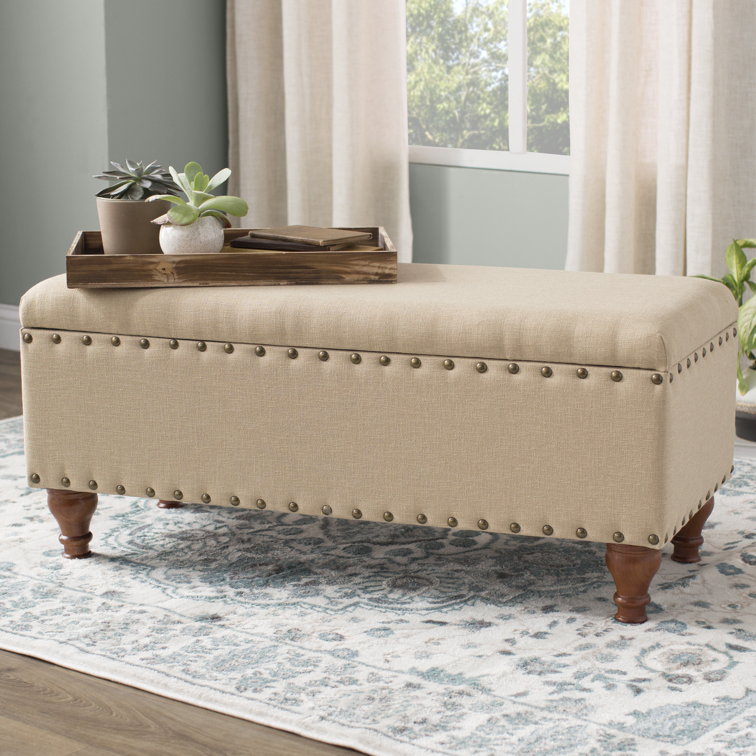 Prime Lattimer Upholstered Storage Bench Gmtry Best Dining Table And Chair Ideas Images Gmtryco