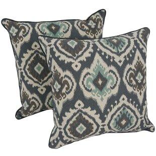 Dmitri Ogee Throw Pillow (Set of 2)