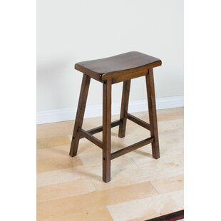 Loar 24 Bar Stool (Set of 2) Red Barrel Studio