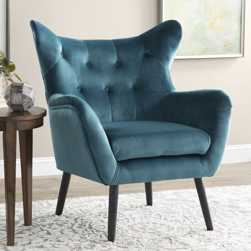 Willa Arlo Interiors Bouck Wingback Chair Amp Reviews Wayfair
