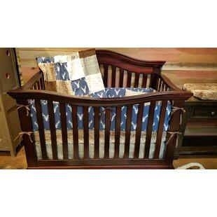 Reviews Straw Deer 4 Piece Crib Bedding Set ByHarriet Bee