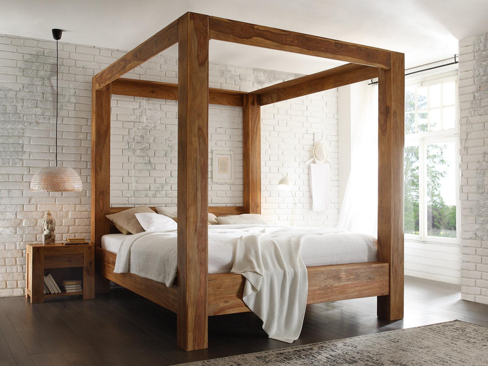 Massivum 2-tlg. Schlafzimmer-Set Stark, 180 x 200 cm | Wayfair.de