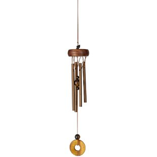 Precious Stones Tiger's Eye Wind Chime by Woodstock Chimes