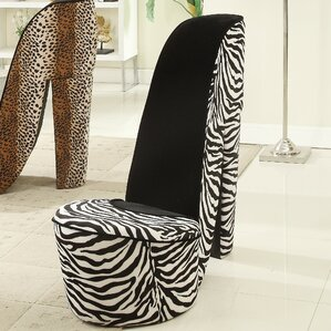 Zebra High Heel Lounge Chair by Williams Imp..