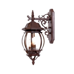 Reva 3-Light Outdoor Wall Lantern