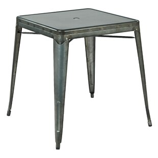 Krishtha Metal Dining Table by 17 Stories