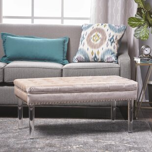 Affordable Rowles Upholstered Bench By Mercer41