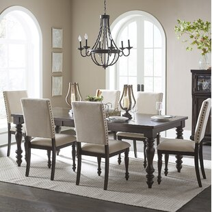 Yarger 7 Piece Extendable Dining Set by Alcott Hill Fresh