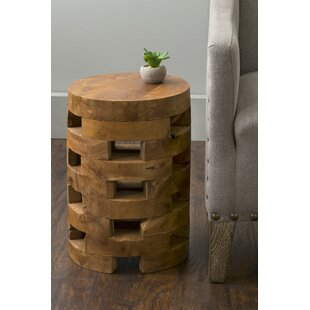 Trend Bandla End Table by Union Rustic