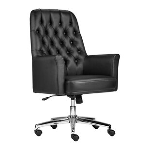 Darby Home Co Dipaolo Mid-Back Swivel Executive Chair