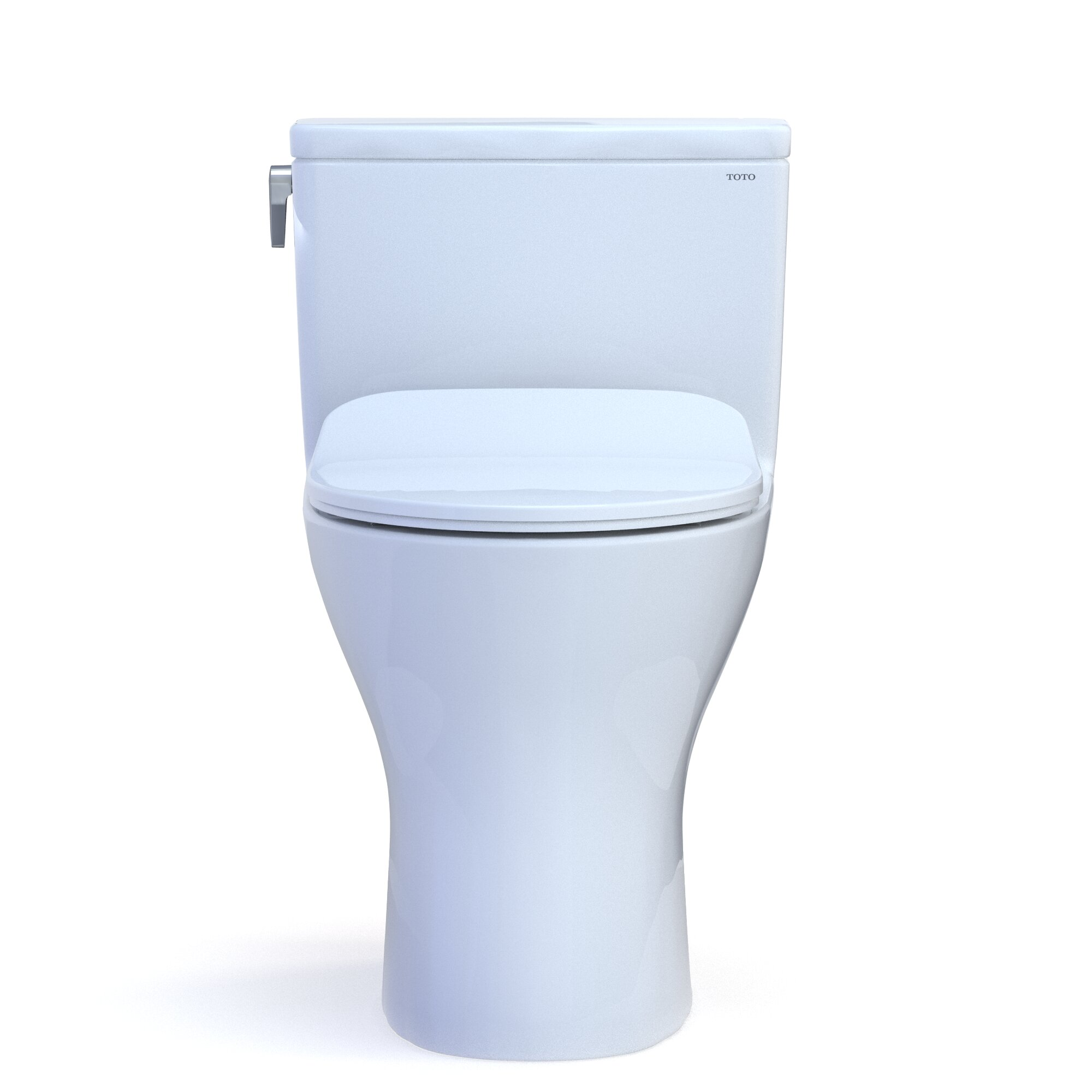 Toto Dual Flush Elongated Two Piece Toilet With Tornado Flush Seat Included Wayfair