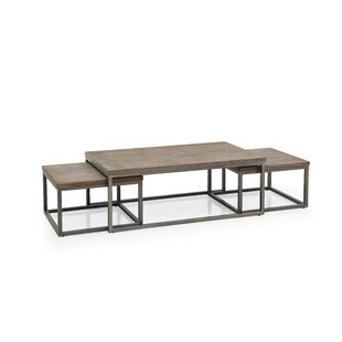 Gracie Oaks Vozelle 3 Piece Coffee Table Set