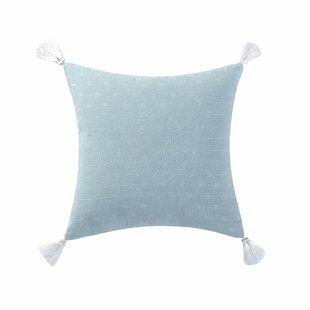 Kinman Tassel Cotton Throw Pillow