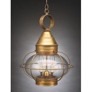 Northeast Lantern Onion 2-Light Outdoor Hanging Lantern