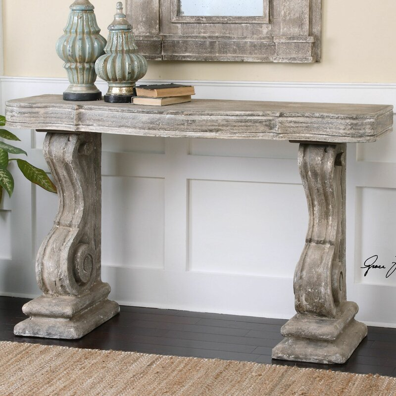 Belen Partemio Distressed Console Table