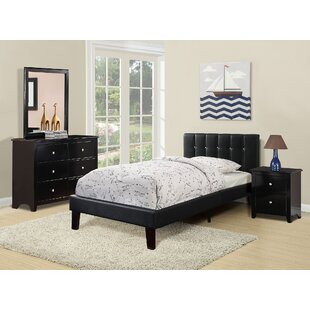 Harriet Bee Duque Upholstered Platform Bed