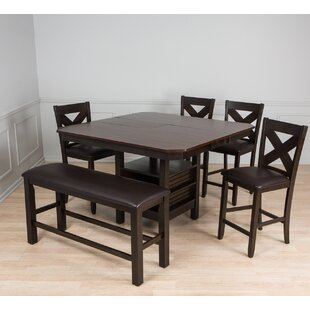 AW Furniture 6 Piece Pub Table Set