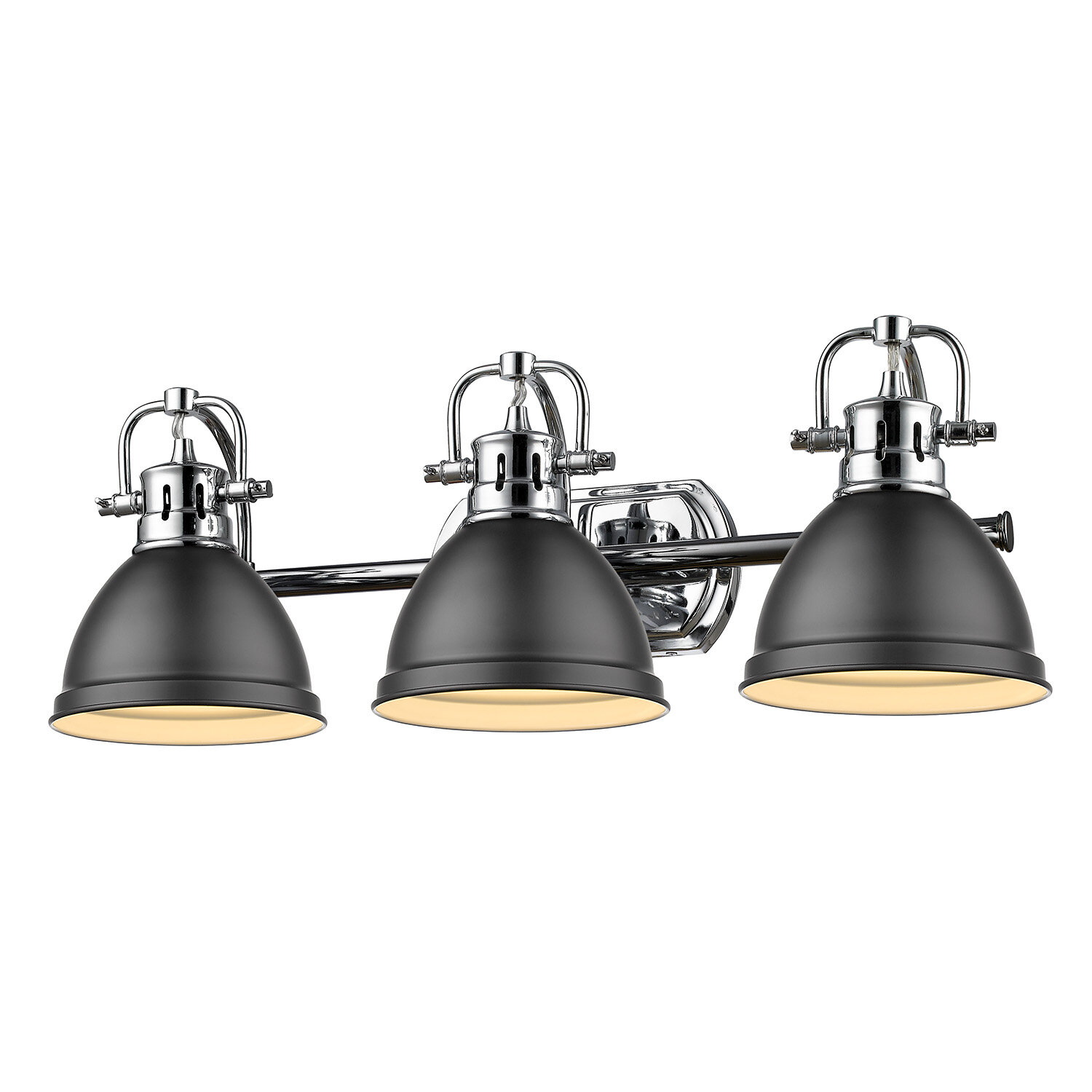 Chrome Vanity Lights Wayfair