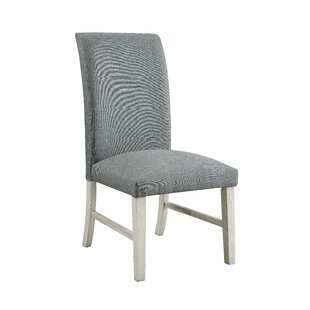 Elfrieda Transitional Upholstered Dining Chair (Set of 2) by Charlton Home