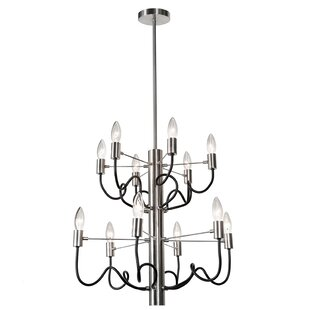 Latitude Run Aisha 12-Light Chandelier