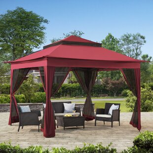 11 Ft. W x 11 Ft. D Steel Pop-up Gazebo by Sunjoy