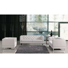 Living Room Sets Leather modern living room sets | allmodern