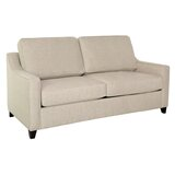 Clark 74 Square Arm Sofa Bed by Edgecombe Furniture