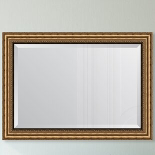 e558679de18 Antique Gold Resin Frame Wall Mirror