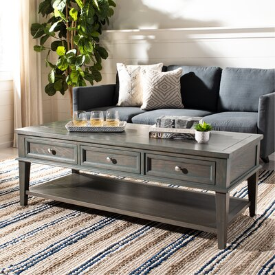 Excellent Rosecliff Heights Yelena Coffee Table With Storage Color Ash Machost Co Dining Chair Design Ideas Machostcouk