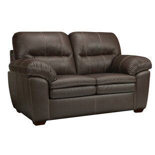 Inexpensive Woodberry Leather Loveseat by Latitude Run Reviews (2019) & Buyer's Guide